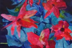 13-2012 Blomster i vase (60x80) 2650,-