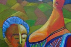 17-2012 Kvindebryst og mandeblik  (50x60) 1750,-