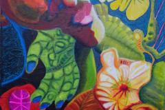 38-2015 Grønne fingre (60x80)      2950,-