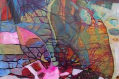 43-2016 Fuglen i reden (60x80)  3450,-