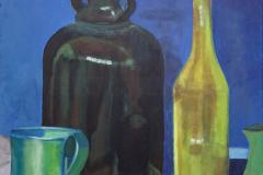 9-2011 Krus, krukke og flaske (2) (60x80) 1750,-